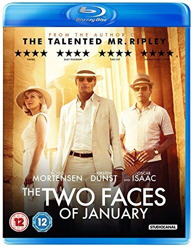 Two Faces Of January [Blu-ray] [DVD][Region 2]