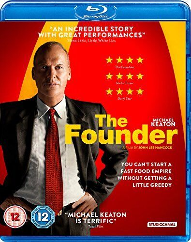 The Founder [Blu-ray] [DVD][Region 2]
