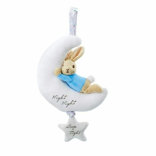 Beatrix Potter Night Night Peter Rabbit Musical Plush Lullaby Baby Soother Toy