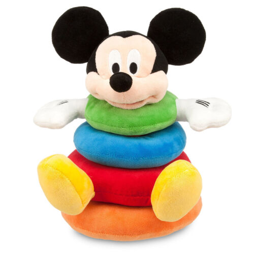 Mickey Mouse Clubhouse Plush Stacking for Baby Educational Toy Authentic Disney