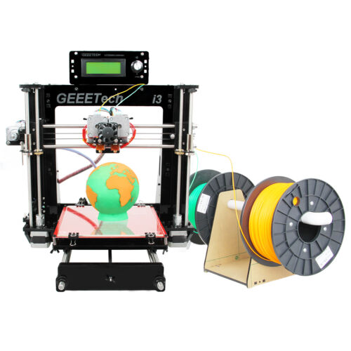 Geeetech 3D Printer 2 Extruder Head Separately Prusa I3 Pro C GT2560 from USA