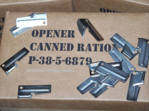 P38 Can Opener 5 Piec Military Issue US Shelby Company Hunting Fishing Camping