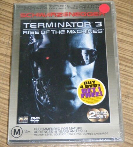 New Sealed DVD - Terminator 3: Rise of the Machines
