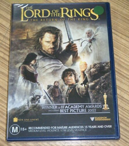 New Sealed DVD - The Lord of the Rings: The Return of the King