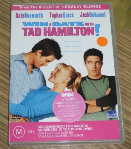 New Sealed DVD - Win A Date With Tad Hamilton!