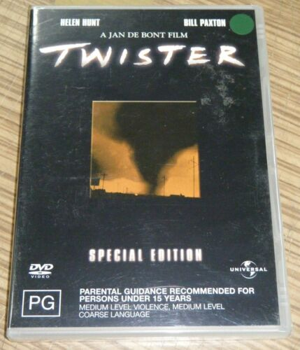 New Sealed DVD - TWISTER (Special Edition)