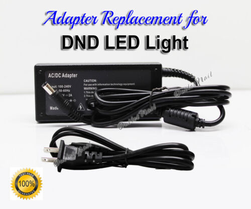 AC Adapter Power Cord Supply Replacement KT56W280200M2 DND LED Lamp Nail Light