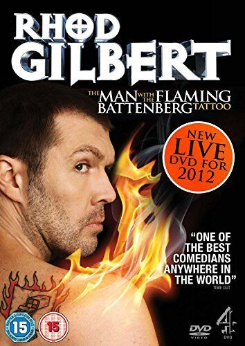 Rhod Gilbert Live 3: The Man With The Flaming Battenberg Tattoo [DVD][Region 2]