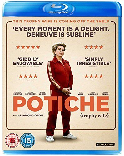 Potiche [Blu-ray] [DVD][Region 2]
