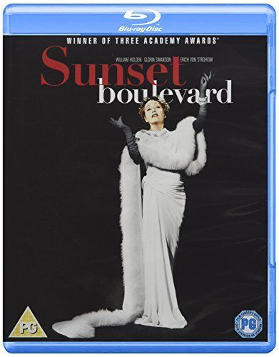 Sunset Boulevard [Blu-ray] [1950] [Region Free] [DVD][Region 2]