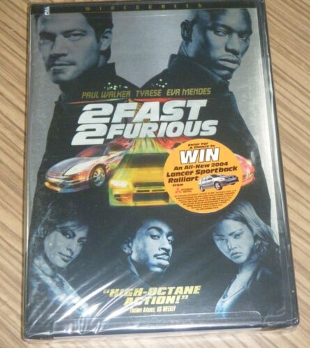 New Sealed DVD - 2 Fast 2 Furious