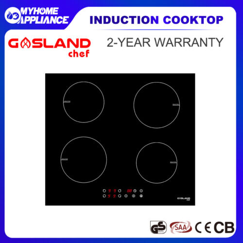 GASLAND chef Induction Cooktop Ceramic Glass 4 Zones Touch Control Kitchen 60cm  <br/> Touch Control ! With Child Lock & Digital Timer