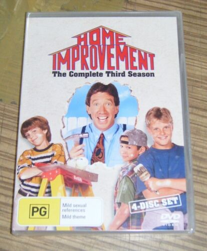 New Sealed DVD - Home Improvement: The Complete Third Season