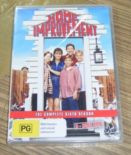 New Sealed DVD - Home Improvement: The Complete Sixth Season