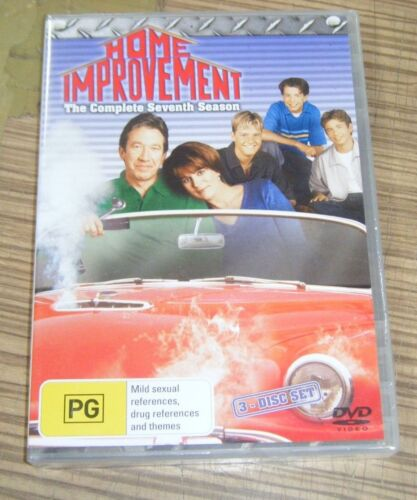 New Sealed DVD - Home Improvement: The Complete Seventh Season