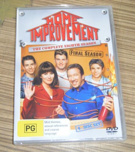 New Sealed DVD - Home Improvement: The Complete Eighth Season