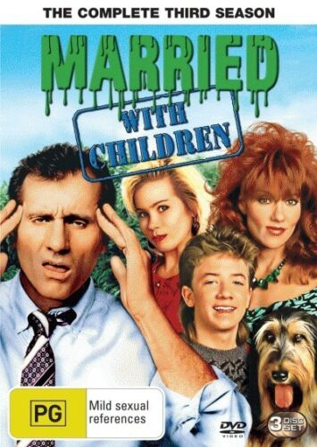 MARRIED WITH CHILDREN: SEASON 3 = TV Series = NEW DVD R4 =Free Post