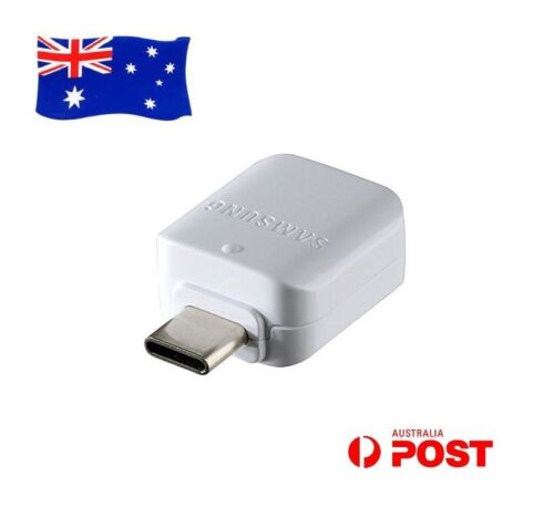Genuine USB Type-C OTG on-the-go Adapter for SAMSUNG Galaxy S9+ S9 A8+ A8 (2018)