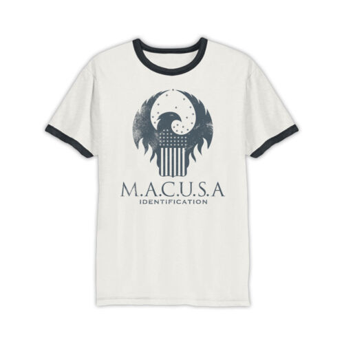 OFFICIAL Fantastic Beasts MACUSA Logo T-shirt NEW White  S XL