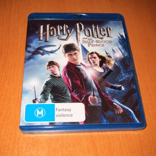 HARRY POTTER AND THE HALF-BLOOD PRINCE ( BLU-RAY , 2 DISC SET )