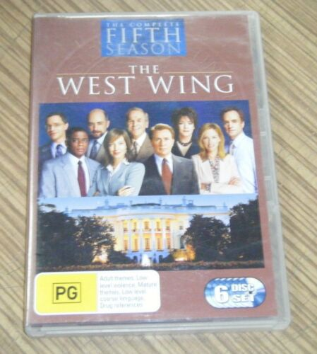 Pre Owned DVD - The West Wing: The Complete Fifth Season [A2]