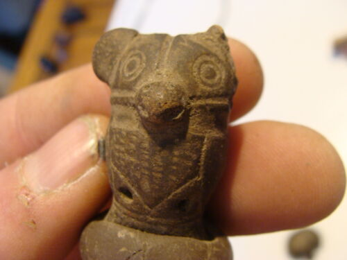 pre-columbian art pottery--little guy, POSSIBEL FOR MAKING SOUND, not sure