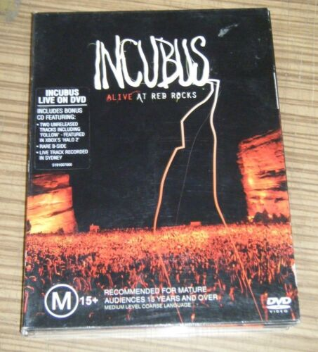 Pre Owned DVD - Incubus: Alive At Red Rocks   (A2)