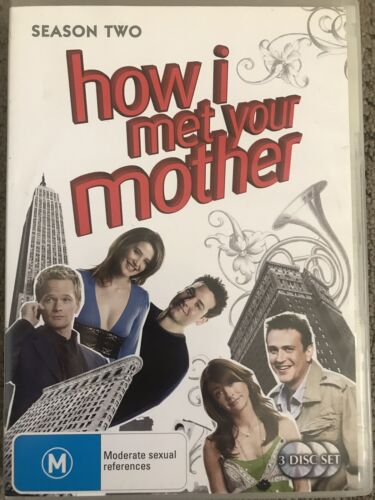 HOW I MET YOUR MOTHER SEASON TWO DVD REGION 4