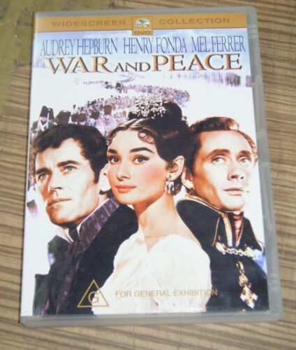 Pre Owned DVD - War and Peace [A3]