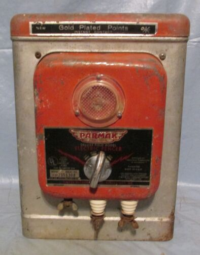 Vintage Fence Charger By PARMAK Deluxe Field Model @@LOOK@@ Western/ Cabin Decor