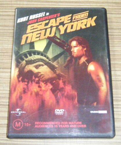 Pre Owned DVD - Escape from New York [A3]