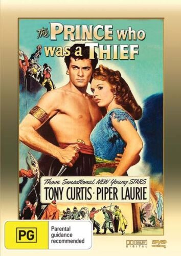 THE PRINCE WHO WAS A THIEF * Tony Curtis , Piper Laurie * ( DVD ,1951 ) NEW