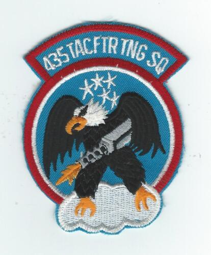 80's 435th TAC FIGHTER TRAINING SQUADRON patchOriginal Period Items - 13983