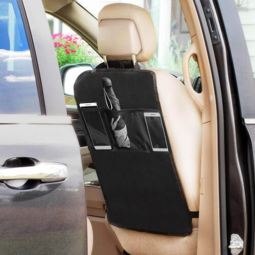 Car Seat Back Protector Waterproof Oxford Fabric Children Kick Mat Cleaning 1PC