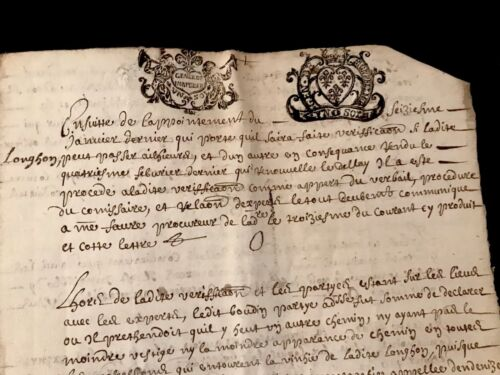 1688 Old Historical Manuscript 20 PAGES
