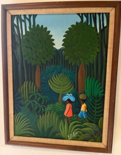 Haitian painting by Eric Jean-Louis