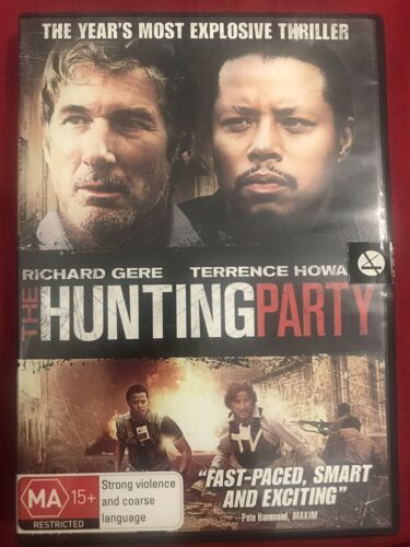 THE HUNTING PARTY DVD REGION 4
