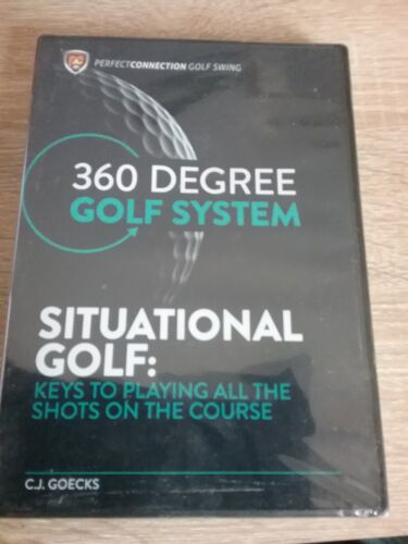 360 degree golf system  SITUATION GOLF keys to playing all the shots  (new)