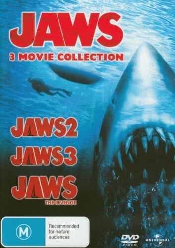 Jaws 2 / Jaws 3 / Jaws: The Revenge = NEW DVD R4