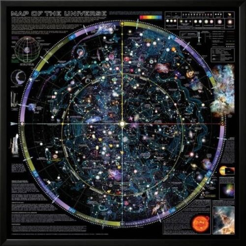 Map of Universe poster