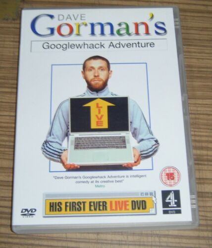 Pre-Owned DVD - Dave Gorman's Googlewhack Adventure [A5]