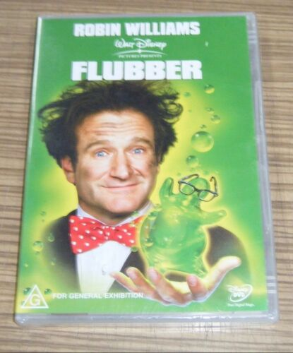 New Sealed DVD - Flubber [A5]