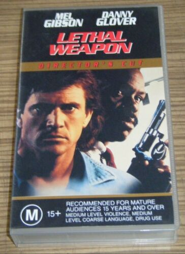 Pre-Owned VHS Movie - Lethal Weapon (Director's Cut)
