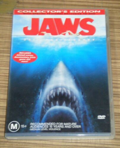 Pre Owned DVD - Jaws (Collector's Edition) [A6]