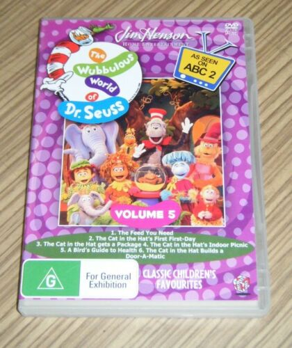 Pre Owned DVD - The Wubbulous World of Dr. Seuss: Volume 5 [A6]
