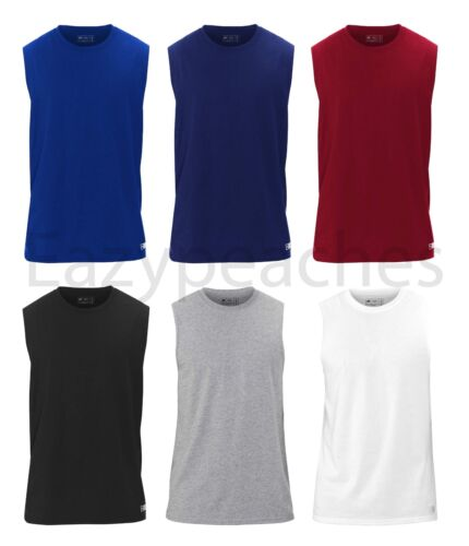 Russell Athletic - Men's Essential Blend Muscle Tee, Sports T-Shirt, S-3XL