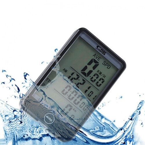 LCD Bike Computer Speed Odometer Waterproof Speedometer Cycle Bicycle SD-576A NY