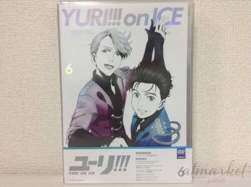 Yuri on Ice Vol.6 First Limited Edition DVD Booklet Coloring Book Japan F/S New
