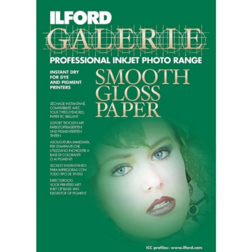 Ilford Galerie Smooth Gloss 290gsm A4 25+10 sheet (35sheet)