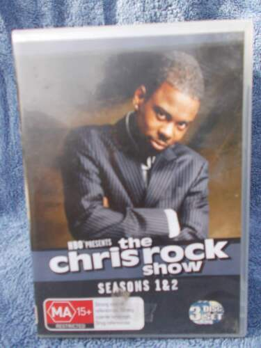 THECHRIS ROCK SHOW ENTIRE SERIES ONE & TWO(3 DISC BOXSET)  DVD MA R4